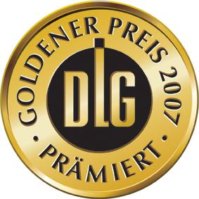 Goldener DLG Preis für unser Rüschele