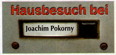 Hausbesuch bei Joachim A. Pokorny